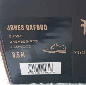 Frye Shoes - New FRYE Jones Oxford Brown Leather Men's Shoes